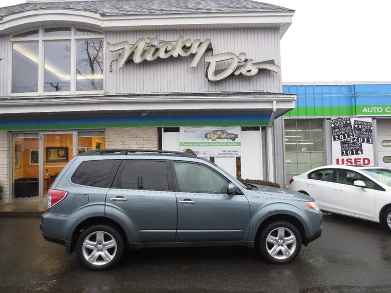 2009 Subaru Forester for sale at Nicky D's in Easthampton MA