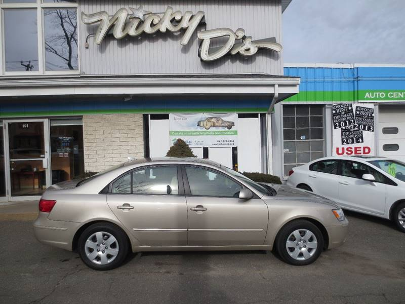 2009 Hyundai Sonata for sale at Nicky D's in Easthampton MA
