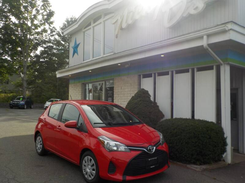 2016 Toyota Yaris for sale at Nicky D's in Easthampton MA