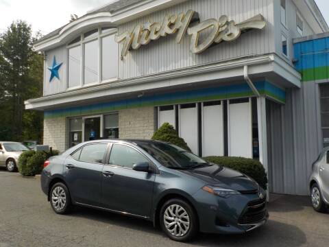 2017 Toyota Corolla for sale at Nicky D's in Easthampton MA