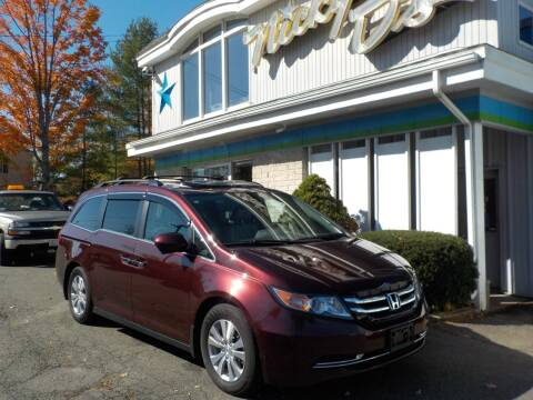 2014 Honda Odyssey for sale at Nicky D's in Easthampton MA