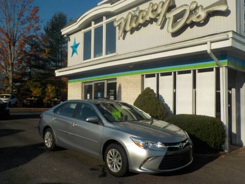 2017 Toyota Camry for sale at Nicky D's in Easthampton MA