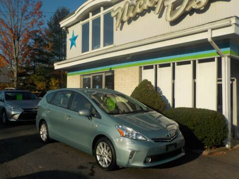 2014 Toyota Prius v for sale at Nicky D's in Easthampton MA
