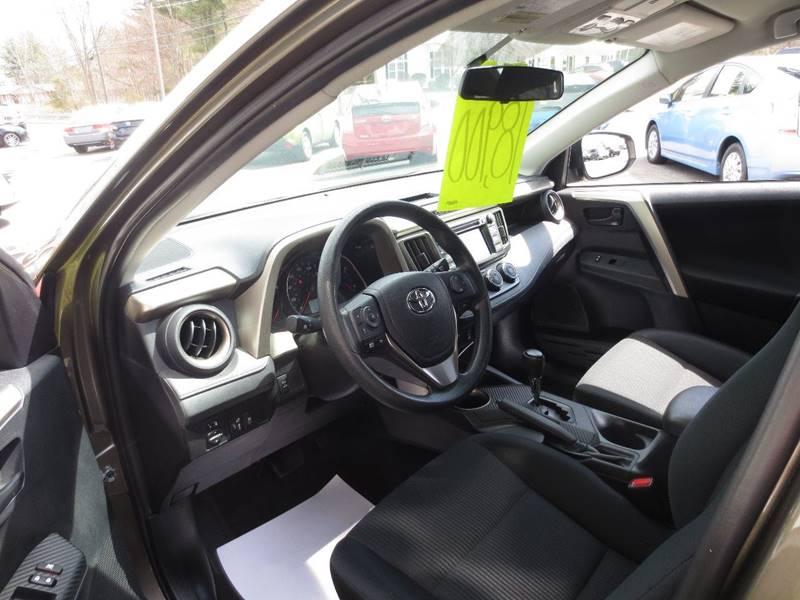 2015 Toyota RAV4 AWD LE 4dr SUV - Easthampton MA