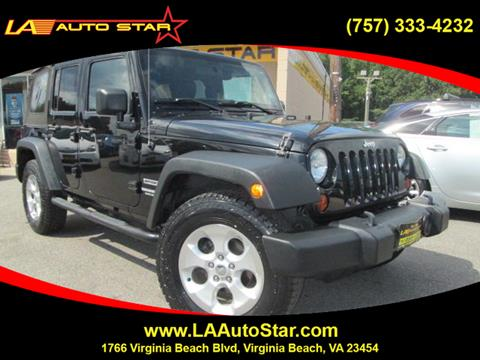 2012 Jeep Wrangler Unlimited for sale in Virginia Beach, VA