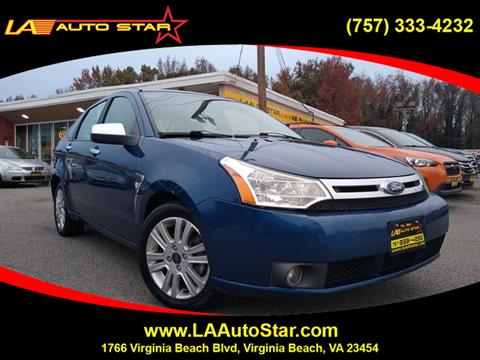 2008 Ford Focus For Sale >> 2008 Ford Focus For Sale In Virginia Beach Va