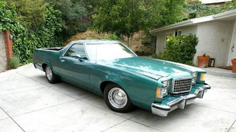 1978 ford ranchero for sale in sun valley ca - 1978 Ford Ranchero