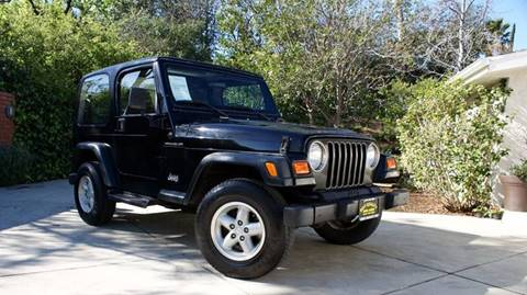 2000 Jeep Wrangler for sale at Best Quality Auto Sales in Sun Valley CA