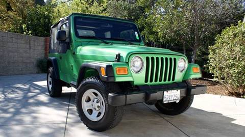 2004 Jeep Wrangler for sale at Best Quality Auto Sales in Sun Valley CA