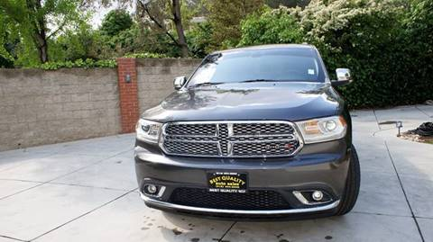 2014 Dodge Durango for sale at Best Quality Auto Sales in Sun Valley CA