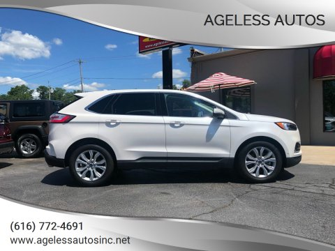 2019 Ford Edge for sale at Ageless Autos in Zeeland MI