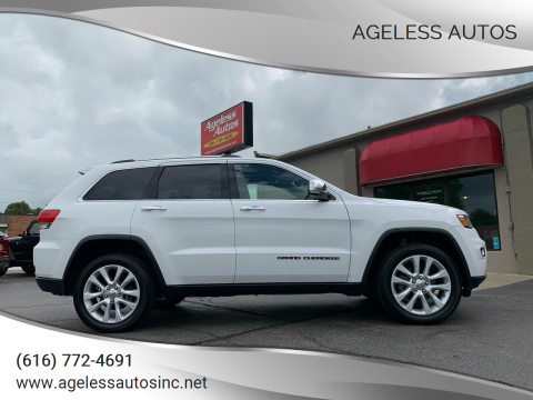 2017 Jeep Grand Cherokee for sale at Ageless Autos in Zeeland MI
