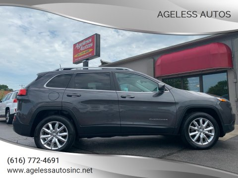 2016 Jeep Cherokee for sale at Ageless Autos in Zeeland MI