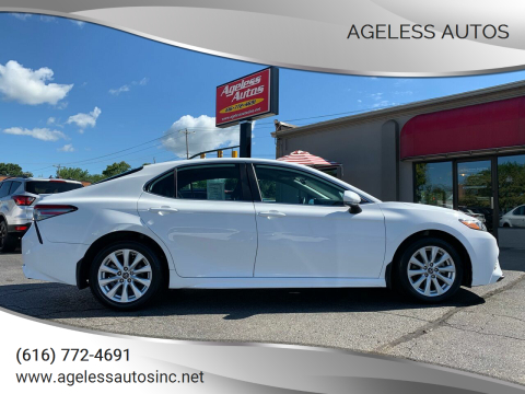2019 Toyota Camry for sale at Ageless Autos in Zeeland MI