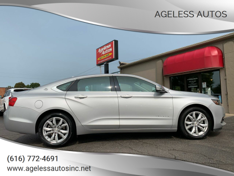 2019 Chevrolet Impala for sale at Ageless Autos in Zeeland MI