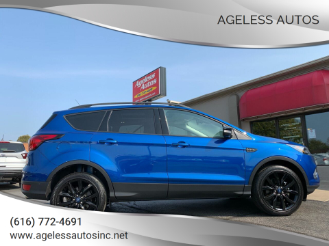 2019 Ford Escape for sale at Ageless Autos in Zeeland MI