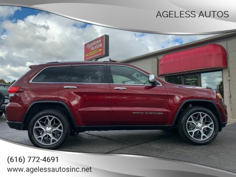 2019 Jeep Grand Cherokee for sale at Ageless Autos in Zeeland MI