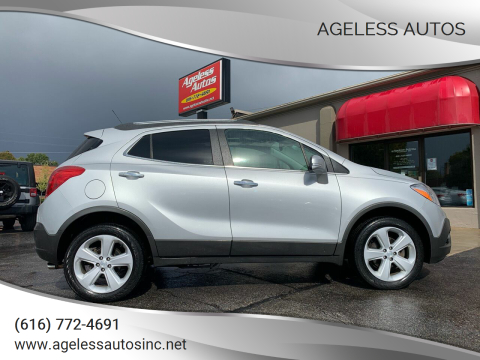 2015 Buick Encore for sale at Ageless Autos in Zeeland MI