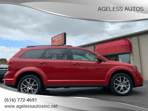 2018 Dodge Journey for sale at Ageless Autos in Zeeland MI
