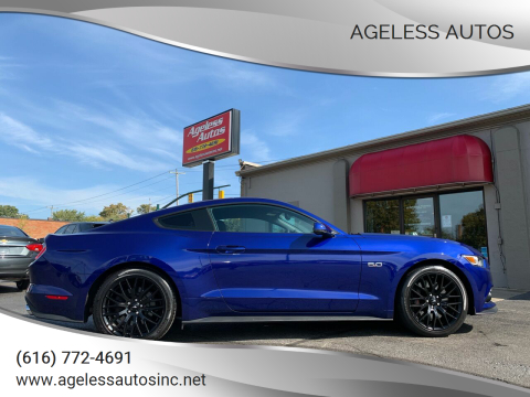 2015 Ford Mustang for sale at Ageless Autos in Zeeland MI