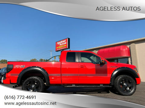 2013 Ford F-150 for sale at Ageless Autos in Zeeland MI