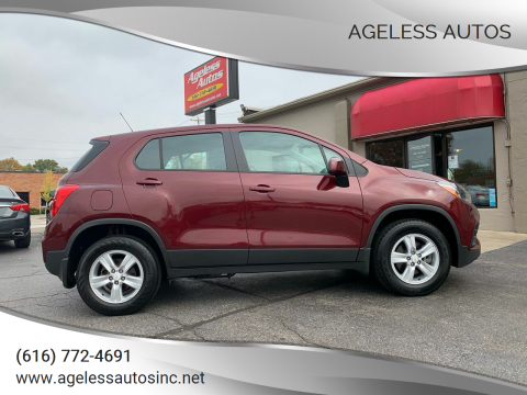 2017 Chevrolet Trax for sale at Ageless Autos in Zeeland MI