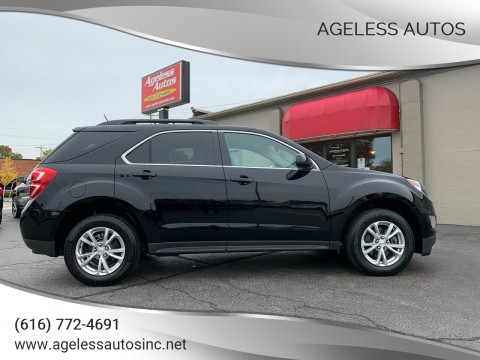 2017 Chevrolet Equinox for sale at Ageless Autos in Zeeland MI