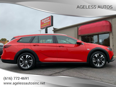2018 Buick Regal TourX for sale at Ageless Autos in Zeeland MI