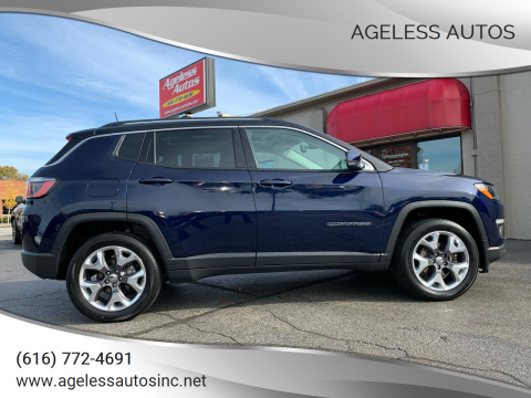 2019 Jeep Compass for sale at Ageless Autos in Zeeland MI