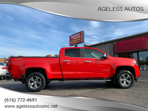 2017 Chevrolet Colorado for sale at Ageless Autos in Zeeland MI