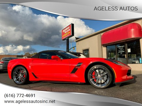 2019 Chevrolet Corvette for sale at Ageless Autos in Zeeland MI