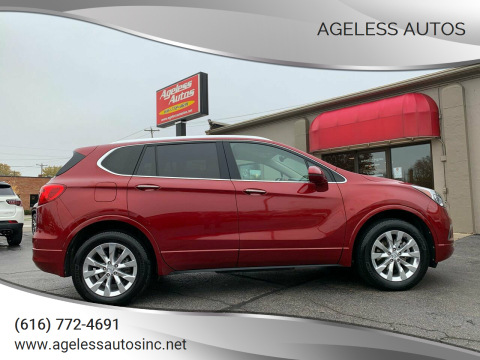 2017 Buick Envision for sale at Ageless Autos in Zeeland MI