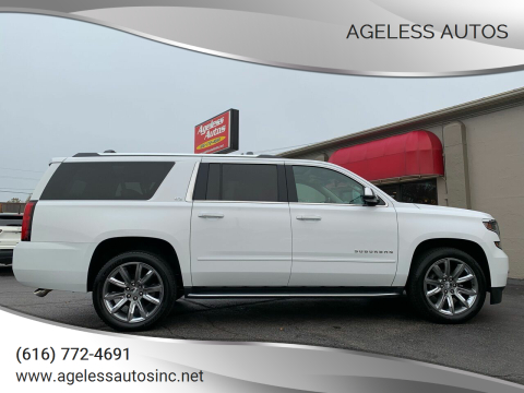 2016 Chevrolet Suburban for sale at Ageless Autos in Zeeland MI