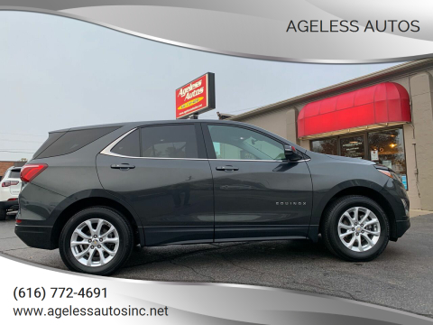2018 Chevrolet Equinox for sale at Ageless Autos in Zeeland MI