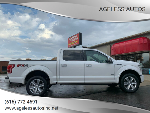 2015 Ford F-150 for sale at Ageless Autos in Zeeland MI