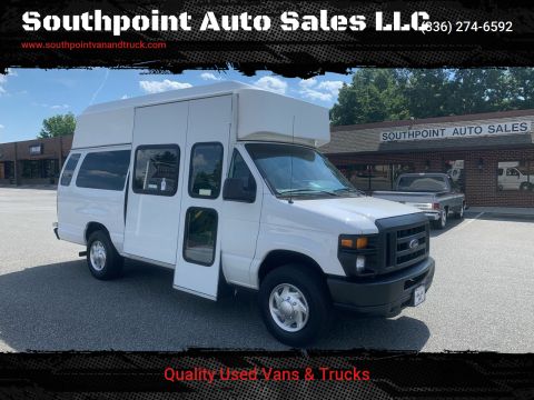 2014 Ford E-Series Cargo for sale at Southpoint Auto Sales LLC in Greensboro NC