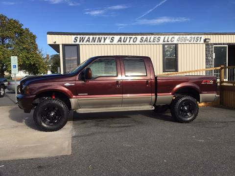 2003 Ford F-350 Super Duty for sale at Swanny's Auto Sales in Newton NC