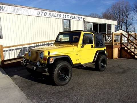 2000 Jeep Wrangler for sale in Newton, NC