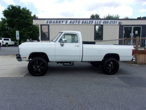 1992 Dodge RAM 250 for sale at Swanny's Auto Sales in Newton NC