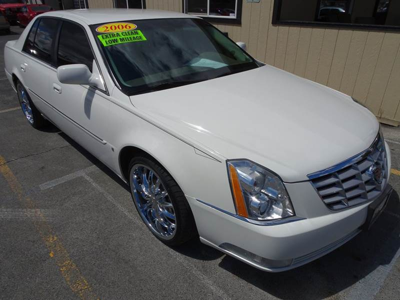 2006 cadillac dts luxury i 4dr sedan in yakima wa bbl auto sales. Black Bedroom Furniture Sets. Home Design Ideas