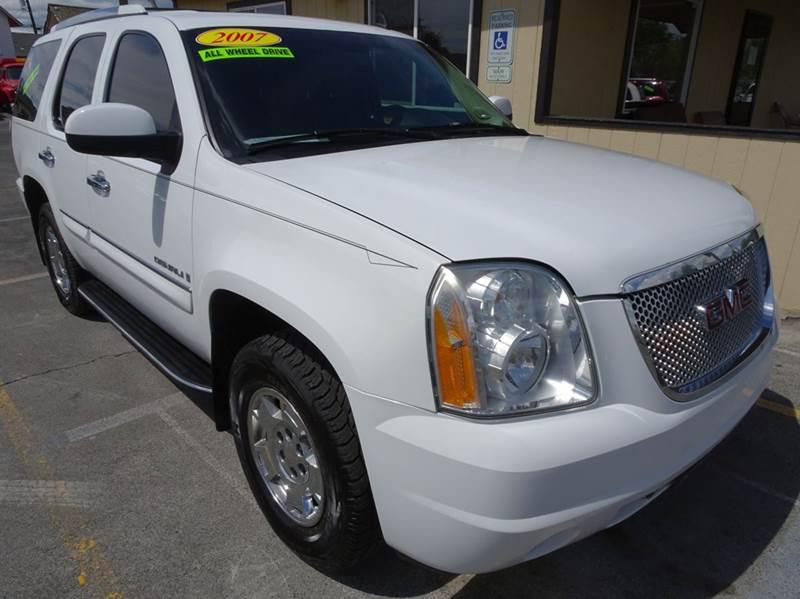 2007 Gmc Yukon AWD Denali 4dr SUV In Yakima WA - BBL Auto Sales