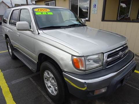 1999 toyota 4runner for sale in washington. Black Bedroom Furniture Sets. Home Design Ideas