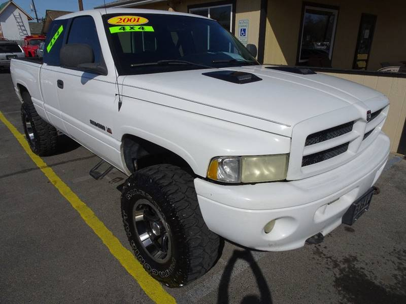 2001 dodge ram pickup 1500 4dr quad cab slt 4wd sb in yakima wa bbl auto sales. Black Bedroom Furniture Sets. Home Design Ideas