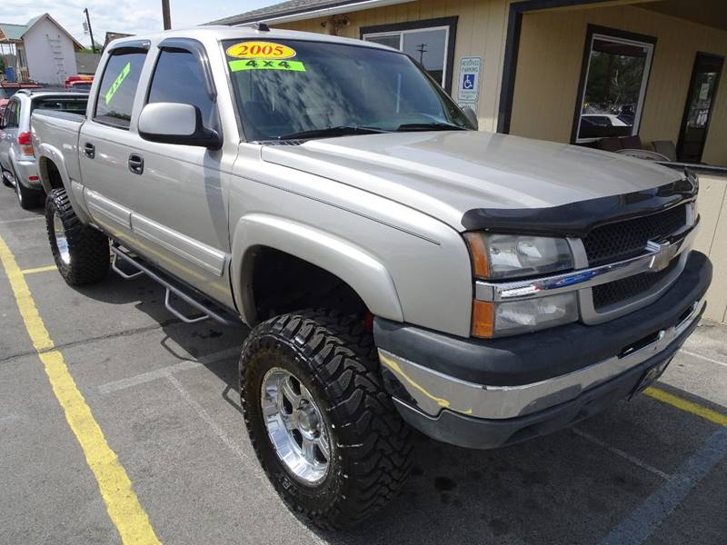 2005 chevrolet silverado 1500 4dr crew cab lt 4wd sb in yakima wa bbl auto sales. Black Bedroom Furniture Sets. Home Design Ideas