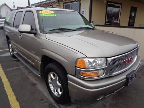 2003 GMC Yukon XL for sale at BBL Auto Sales in Yakima WA