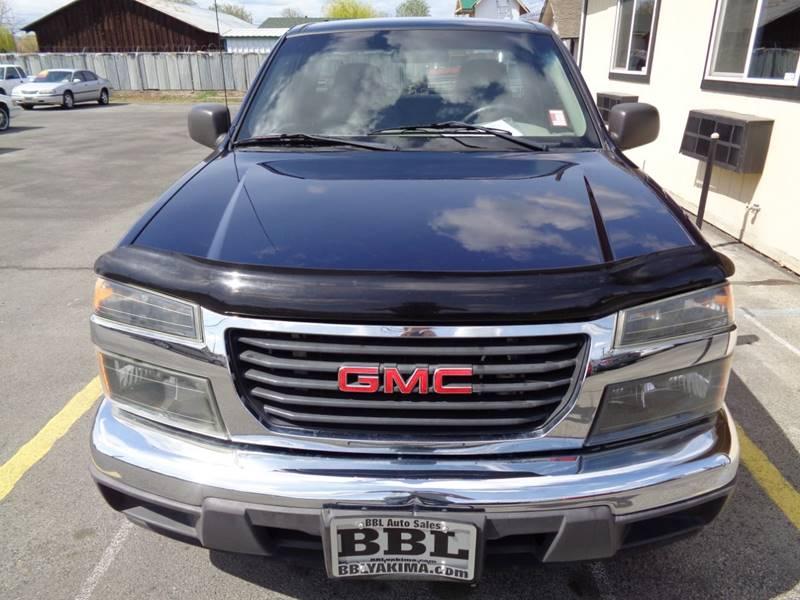 2008 Gmc Canyon Wt 2dr Regular Cab Sb In Yakima Wa Bbl