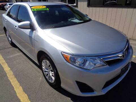 2014 Toyota Camry for sale at BBL Auto Sales in Yakima WA