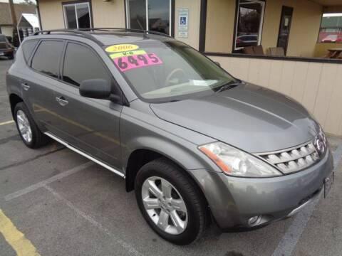 2006 Nissan Murano for sale at BBL Auto Sales in Yakima WA