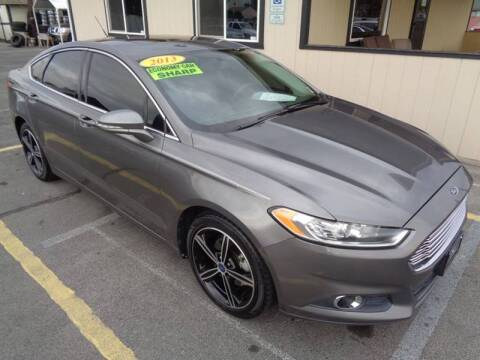 2013 Ford Fusion for sale at BBL Auto Sales in Yakima WA