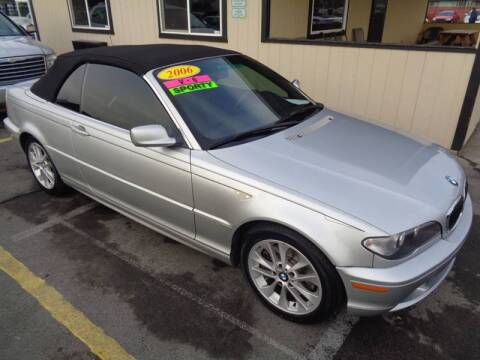 2006 BMW 3 Series for sale at BBL Auto Sales in Yakima WA
